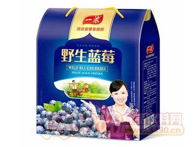 一浓野生蓝莓488mlx6盒饮品