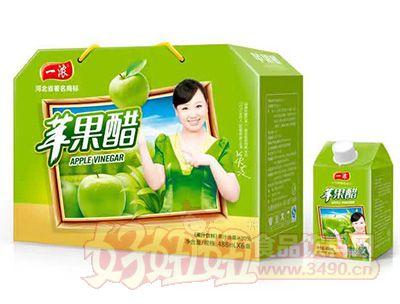 一浓苹果醋488mlx6盒