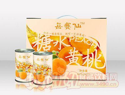每赛仙425g装(12罐箱)黄桃罐头