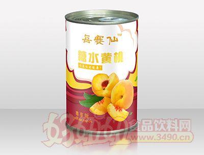 每赛仙425g尊享装黄桃罐头