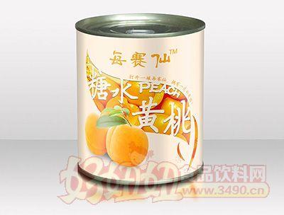 每赛仙820g装黄桃罐头