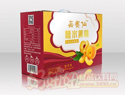 每赛仙820g尊享装黄桃罐头