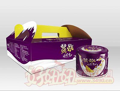 每赛仙酸奶口味・210g装(12杯箱)黄桃罐头