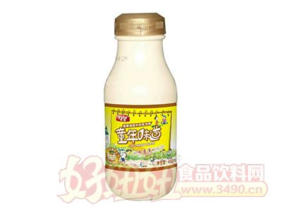 雨露童年味道香草味甜牛奶乳饮料450ml