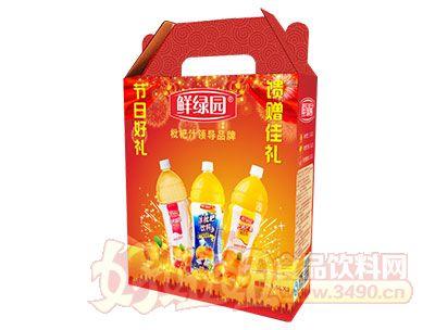 鲜绿园枇杷汁1.5L×3组合装礼盒