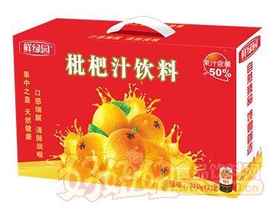 鲜绿园枇杷汁饮料310ml×12罐礼盒