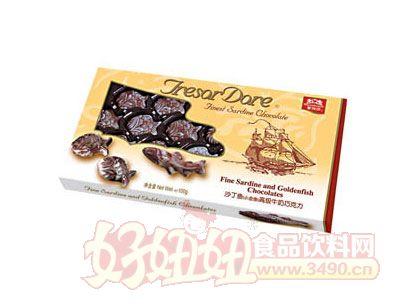 海洋沙丁鱼牛奶巧克力100g