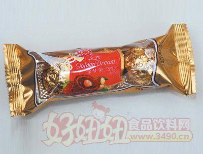 金梦果仁巧克力36g