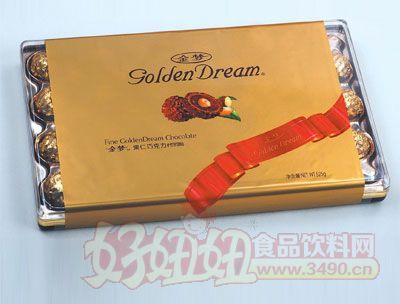金梦果仁巧克力525g