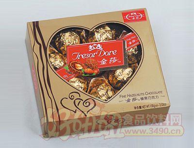 金莎榛果巧克力100g