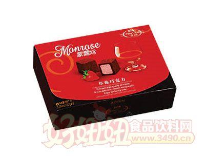 蒙露丝草莓巧克力30g