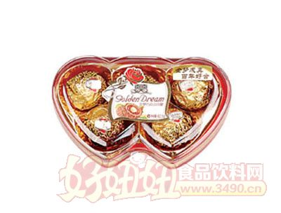 金梦果仁巧克力62g