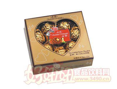 金梦果仁巧克力100g