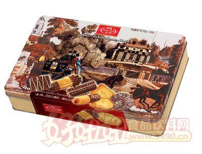 金莎巧克力薄饼(铁盒)270g