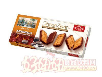 金莎红枣巧克力薄饼120g