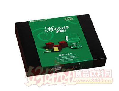 蒙露�z抹茶巧克力100g