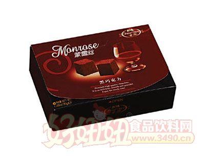 蒙露�z黑巧克力30g