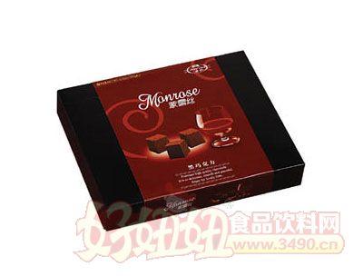 蒙露丝黑巧克力100g