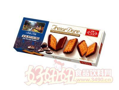 金莎香芋巧克力薄饼120g
