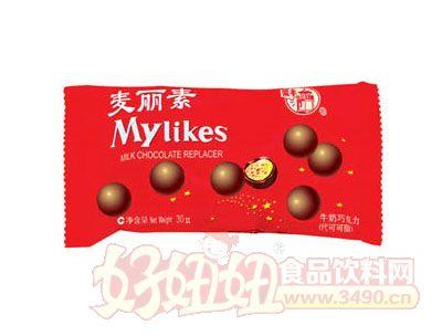梁�S����素奶��巧克力30g