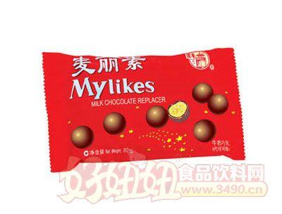 梁�S����素牛奶巧克力80g