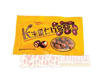 梁丰长生果仁巧克力100g