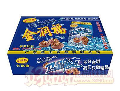 金润福马蹄爽(荸荠饮料)310ml×24罐箱装