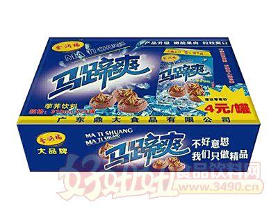 金润福马蹄爽(荸荠饮料)310ml×24罐
