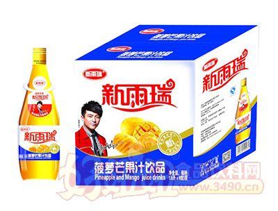 新雨瑞菠萝芒果汁饮品1.5L×6瓶