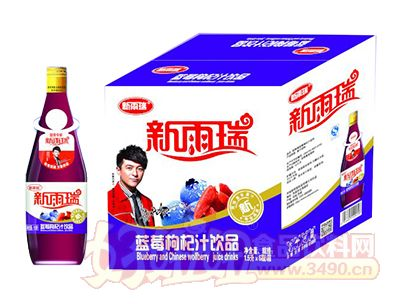 新雨瑞蓝莓枸杞汁饮品1.5L×6瓶
