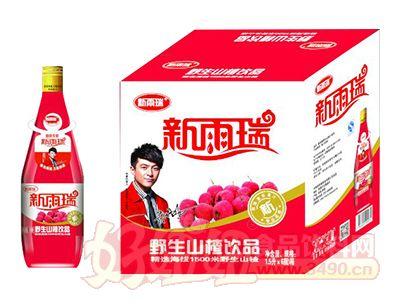 新雨瑞野生山楂饮品1.5L×6瓶