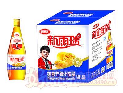 新雨瑞菠萝芒果汁饮品1.28L×6瓶