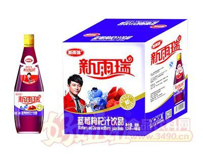 新雨瑞蓝莓枸杞汁饮品1.28L×6瓶