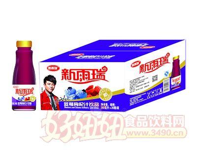 新雨瑞蓝莓枸杞汁饮品260ml×20瓶