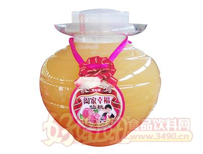 �W知源阖家幸福仙桃汁