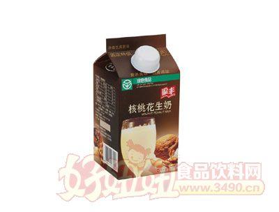 梁丰餐饮核桃花生奶450ml