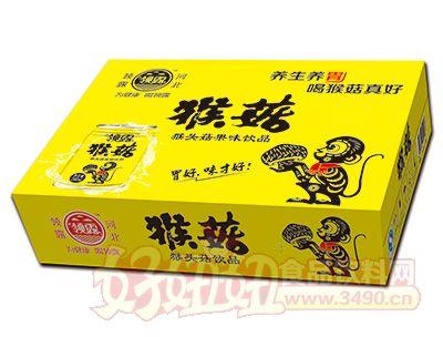 领露猴菇饮品箱