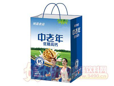 领露中老年低糖高钙蛋白奶手提袋