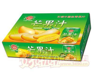 领露芒果汁箱装