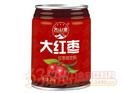 天山雪大红枣罐装240ml