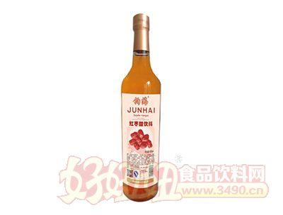钧海红枣醋饮料650ml