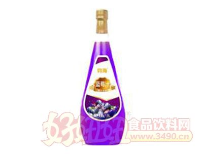 钧海蓝莓汁饮料1.5升
