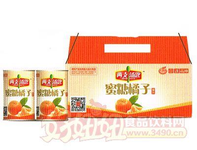 两支汤匙蜜糖橘子罐头425g×8