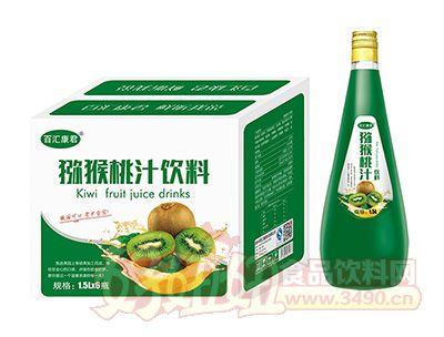 百汇康君猕猴桃汁饮料1.5L