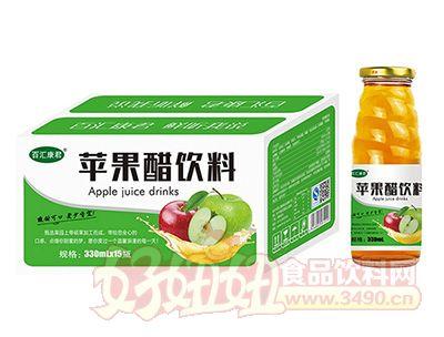 百汇康君苹果醋饮料330mL