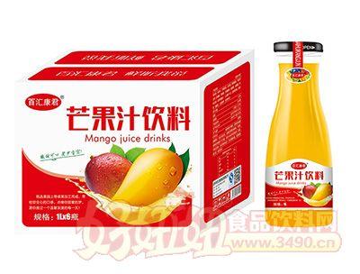 百汇康君芒果汁饮料1L