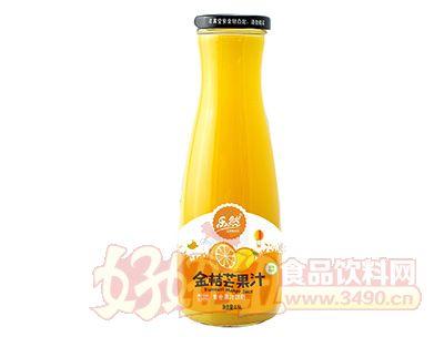 乐然金桔芒果汁1.5l