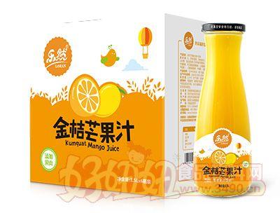 乐然金桔芒果汁1.5lx6瓶