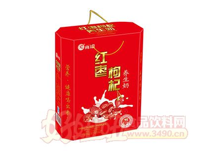 雨瑞红枣枸杞养生奶礼盒