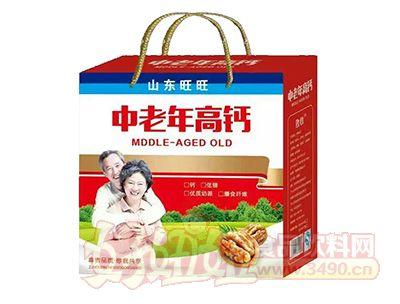 中老年高钙饮品